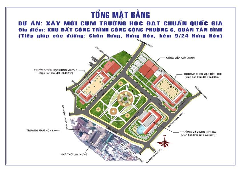 Về phát ngôn và cung cấp thông tin cho báo chí liên quan đến vụ việc tại Khu đất công trình công cộng phường 6, quận Tân Bình